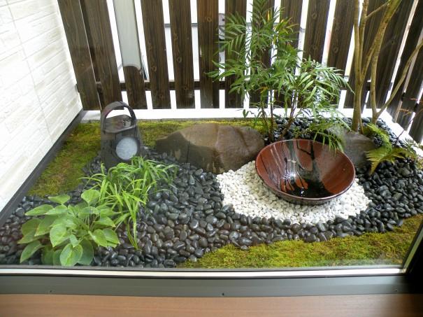 W for Little japanese garden